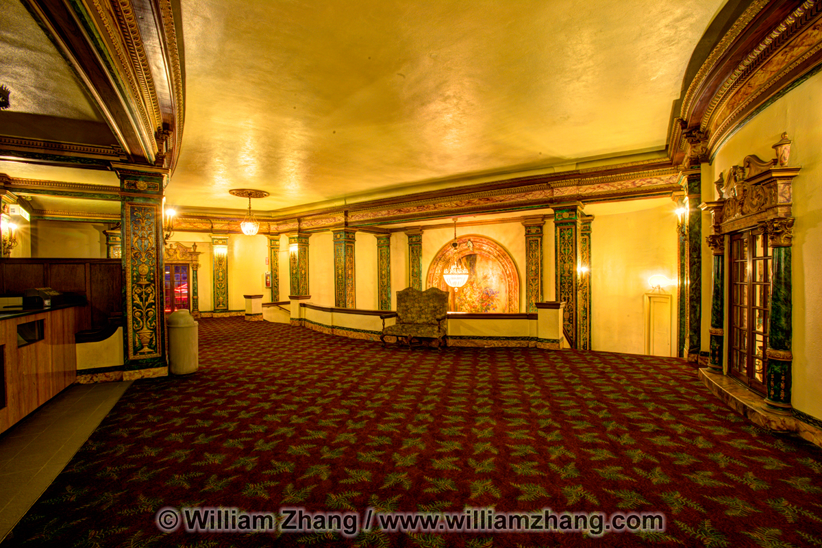 Art Deco Interior Of Grand Lake Theater Oakland Ca