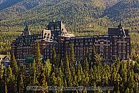 Banff Springs Hotel opened in 1888. Banff, Alberta, Canada