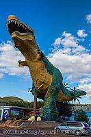 Drumheller dinosaur attraction in Alberta