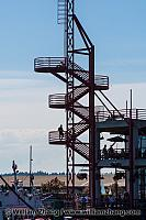 Observation tower at market in North Vancouver. BC, Canada