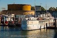 Former FDR presidential yacht Potomac berthed at Port. Oakland,