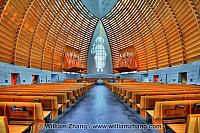 Interior of Cathedral of Christ the Light. Oakland, CA
